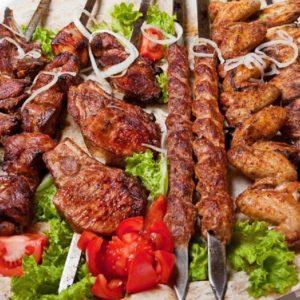 Горячие блюда на мангале