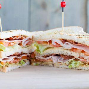 Мини клаб сэндвичи